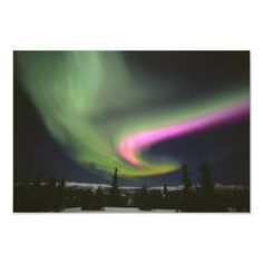 Aurora 2 Poster created by OneWithNature. Personalize it with photos & text or purchase as is! Northern Lights Trips, Alaska Northern Lights, Photo Print Sizes, 2 Photos, Aurora Borealis, Hot Springs, Photo Art, Sky, Gender