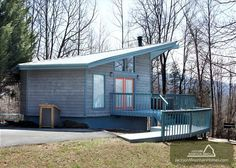 Woodsong is a private 1 bedroom cabin in the Smokies that you are your significant other will love!