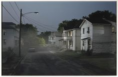 """...my girl, my girl don't you lie to me...where did you sleep last night?""  Talented photographer Gregory Crewdson"