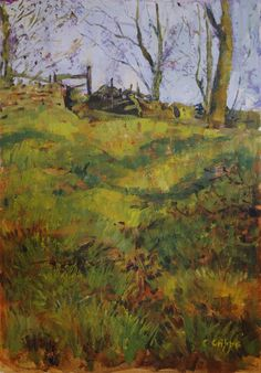 PTG Exercise 2 - Shadows on a Path by Colin Cripps The Artist Magazine, Shadows, Paths, Magazines, Exercises, Surfing, Painting, Darkness, Journals