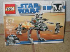 "NEW LEGO STAR WARS ""CLONE WALKER BATTLE PACK"" SET"