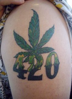 Weed Related Tattoos