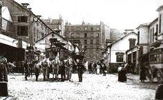 Le dépôt d'omnibus de Clichy vers 1900