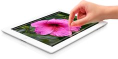 """Apple """"The New"""" iPad! with 3.1M-pixel Retina Display, 5 M-pixel iSight camera, 4G LTE, voice dictation"""