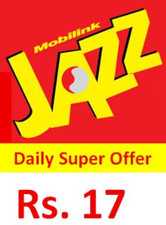 Super Daily Offerpricers 17 Incl Tax Price May Vary Based On Location On Net Minutes1440off Net Minutes Sms50internet150 Mbs Dataduration1 In 2020 Data Jazz Offer