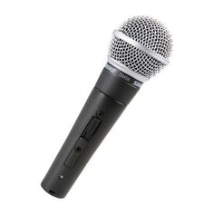 Shure SM58S Vocal Handheld Dynamic Microphone with On-Off Switch