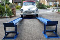 Car lift/ramps - the simple unique patented MR1s for DIY mechanics
