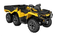New 2016 Can-Am Outlander™ 6x6 XT™ 650 ATVs For Sale in West Virginia. The tougher the terrain is, the better the characteristics of the Outlander 6x6 XT display. It sets a new standard in the segment by reaching previously impassable destinations.Highlig