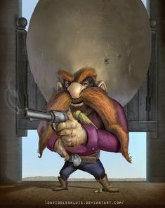 Yosemite Sam by David de Leon Luis *