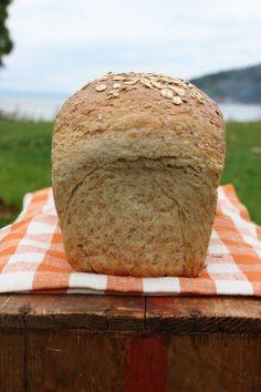 Himmelsk havrebrød – Bollefrua I Love Food, Good Food, Bread Recipes, Cooking Recipes, Piece Of Bread, Kefir, Sweet And Salty, Sweet Bread, Bread Baking
