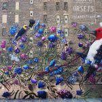An Explosive New Mural and Paintings by Collin van der Sluijs
