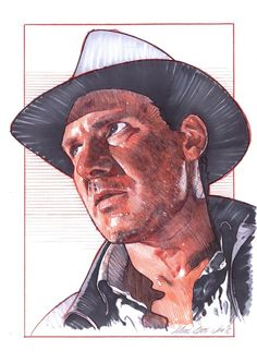 Indiana Jones by Mark Raats
