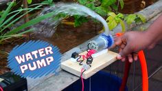 How to Make Powerful Water Pump - Wonderful  Home Made Pump - YouTube