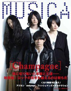[Champagne]2012/3/12 「MUSICA」4月号の表紙はこれ![Champagne]!!