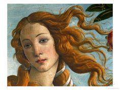 The Birth of Venus (Head of Venus), 1486 Giclee Print by Sandro Botticelli - AllPosters.co.uk