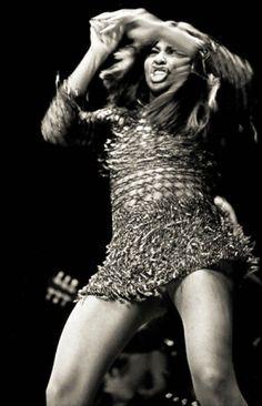 "Tina Turner ""River Deep, Mountain High"" ----- No wonder she insured those legs...."