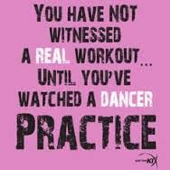 Dance quotes- seriously I want to see a football or basketball player stand on their toes and do spins or stretch their leg past their head