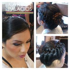 Peinado Karina Maquillaje Anneliese