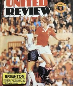 Football Program, Football Team, Manchester United Old Trafford, Fixture List, Southampton Fc, Gareth Bale, Being Good, Man United, Back In The Day