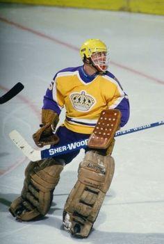 Hockey Goalie, Hockey Games, La Kings Hockey, Hockey Room, We The Kings, Goalie Mask, Leather Company, Los Angeles Kings, Nfl Fans