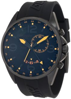 Torgoen Swiss Men's T30304 T30 Series Classic Black Aviation Watch