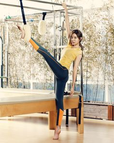Uee - After School Uee After School, Perfect Body Shape, Yu Jin, Korean Actresses, Korean Celebrities, Physical Fitness, Body Shapes, Kpop Girls, Exercise