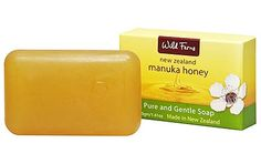 Manuka Honey Pure and Gentle Soap - Wild Ferns - 40g | Shop New Zealand NZ$3.90