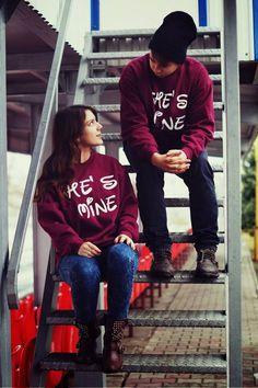 Couple sweatshirt, valentines, love.