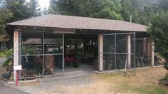 The Pavilion,  #agricultureartifacts #chainlinkfencestructure #parksvillemuseum Back In Time, Pavilion, Agriculture, Gazebo, Museum, Community, Outdoor Structures, Building, Kiosk
