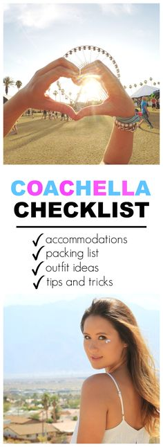 EVERYTHING you need to know about Coachella including an entire timeline of to do's! Accommodations, packing list, outfit ideas as well as tips and tricks! If you haven't been to this music festival in Coachella Valley, make sure to pin this!