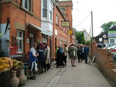St Michael's Trading Estate - artists, antiques and vintage