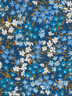 Liberty Print, Liberty Fabric, Floral Fabric, Ditsy Floral, Color Stories, Flower Wallpaper, Vintage Fabrics, Textile Patterns, Flower Prints