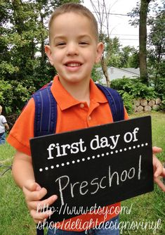 Hey, I found this really awesome Etsy listing at http://www.etsy.com/listing/158112878/first-day-of-school-chalkboard-sign-two