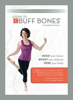 Readers' Choice Awards for the Best Pilates DVDs: Best Pilates DVD - Intermediate: Pilates for Buff Bones - Rebekah Rotstein