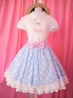 a cute mix of sweet and country lolita!