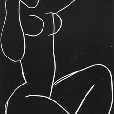 Selected Drawings and Graphic Work by Henri Matisse Henri Matisse, Line Drawing, Painting & Drawing, Painting Lessons, Matisse Drawing, Matisse Art, Art Amour, Art Et Illustration, Art Moderne