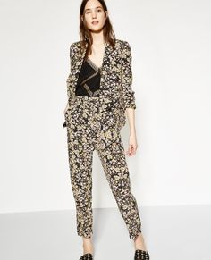 Blossom Fever printed fluid jacket - Collection THE KOOPLES