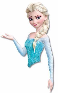 Elsa frozen para tubete