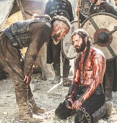 "RAGNAR - ""JUST SO YOU KNOW, YOUR NEICE, GEDA, IS DEAD."""