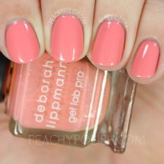 Deborah Lippmann: Summer 2016 Happy Days Collection + Pretty In Pink Mini Set + Life's A Beach Mini Set Swatches & Review