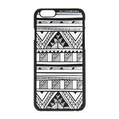Glow in the Dark Tribal Pattern Phone Case - iPhone 6/6S