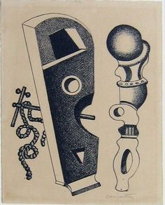 Fernand Léger: Composition. 1933, ink on paper