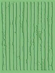 Cuttlebug A2 Distress Stripes Emboss Folder