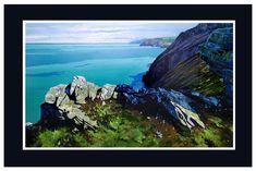 Acrylic on 610 x 375mm gesso panel. #northdevon #leeabbey #northdevoncoast #heddonsmouth #coastalliving #huntersinnexmoor #heddonvalley #exmoornationalpark #southwestcoastpath