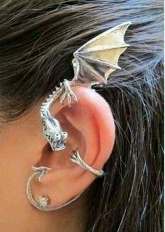 Dragons as accessories?? cool but weird