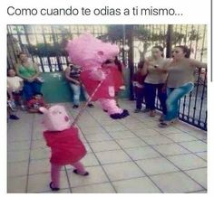 Read Peppa from the story BTS Memes. Me dio gracia, asi que lo puse 🐷 Funny Spanish Memes, Spanish Humor, Wtf Funny, Hilarious, Funny Images, Funny Pictures, Humor Mexicano, Best Memes, Funny Posts