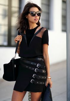 All Black Fall Style from Viva Luxury