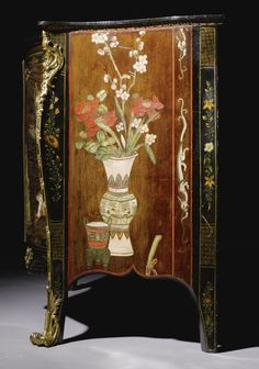 a george iii coromandel lacquer and gilt brass mounted serpentine commode circa 1770 attributed