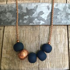 "Lanook handmade Polymer Clay necklace   ""Kellyjane"" $32.00 www.lanook.bigcartel.com"