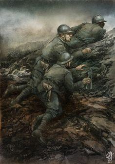 Luciano Ceglia Ww1 History, History Photos, Military Art, Military History, Ww1 Battles, Italian Empire, Ww1 Art, World War One, First World